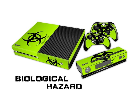 Biological Hazard Skin for Xbox One